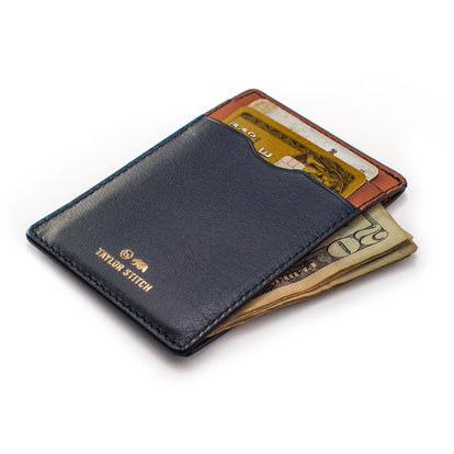 The Minimalist Wallet in Navy: Alternate Image 1