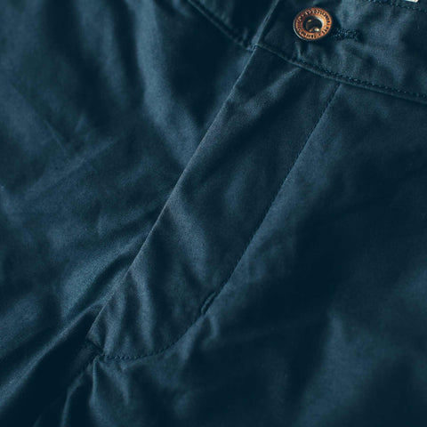The Travel Chino in Navy - alternate view