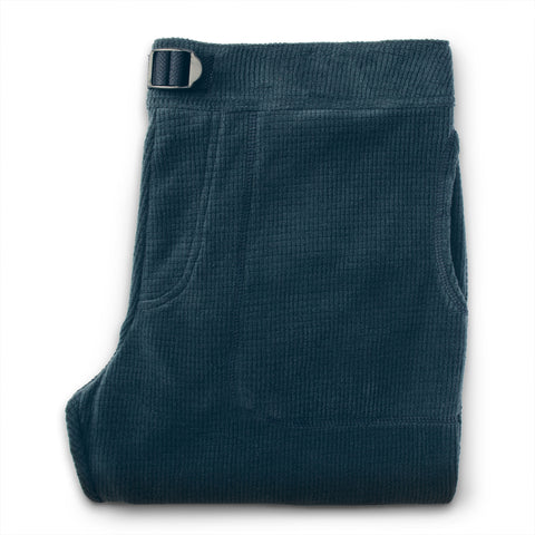 The Pack Pant in Midnight Polartec Fleece - featured image