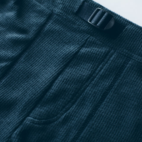 The Pack Pant in Midnight Polartec Fleece - alternate view