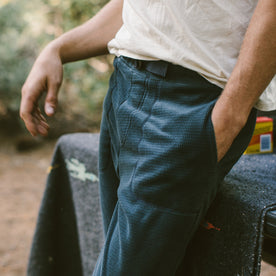 The Pack Pant in Midnight Polartec Fleece: Alternate Image 1