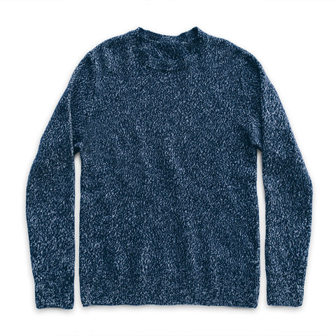 The Summit Sweater in Navy - featured image