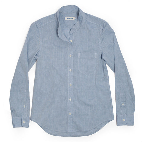 The Caroline in Light Blue Chambray - featured image