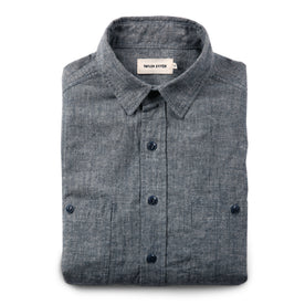 The California in Blue Hemp Chambray: Featured Image