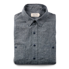 The California in Blue Hemp Chambray