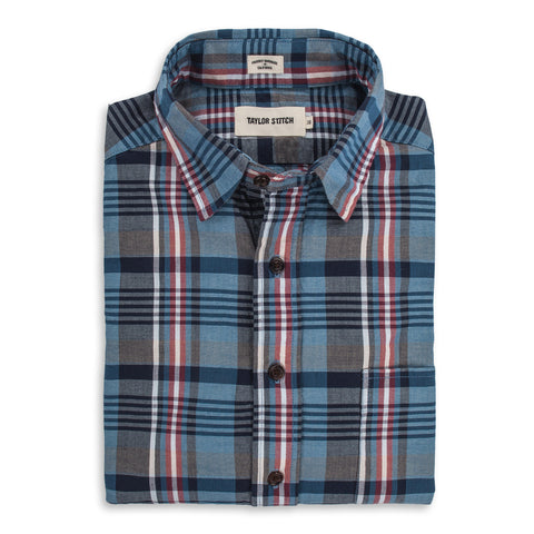 The California in Navy Madras - featured image