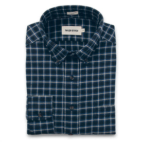 The Jack in Brushed Navy Plaid Flannel: Featured Image