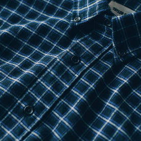 The Jack in Brushed Navy Plaid Flannel: Alternate Image 5