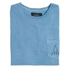 The Highway Tee in Dusty Blue: Featured Image