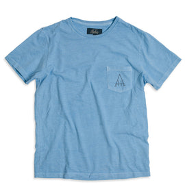 The Highway Tee in Dusty Blue: Alternate Image 1