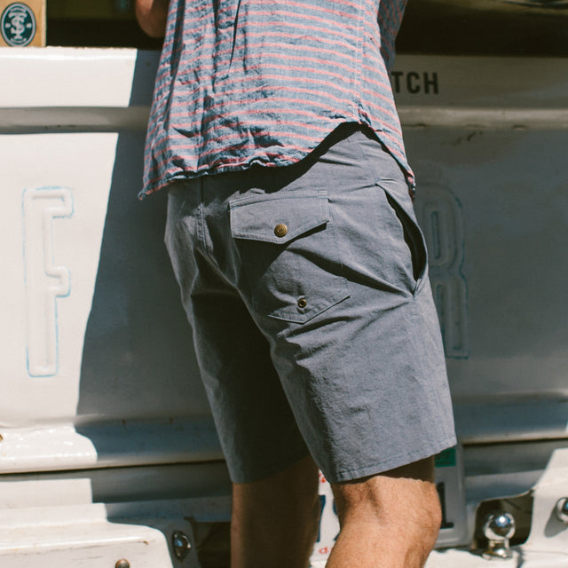 The Surf Trunk in Navy