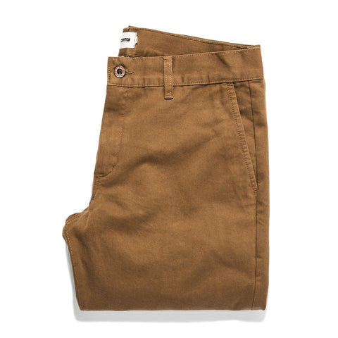 The Democratic Chino in Organic British Khaki - featured image