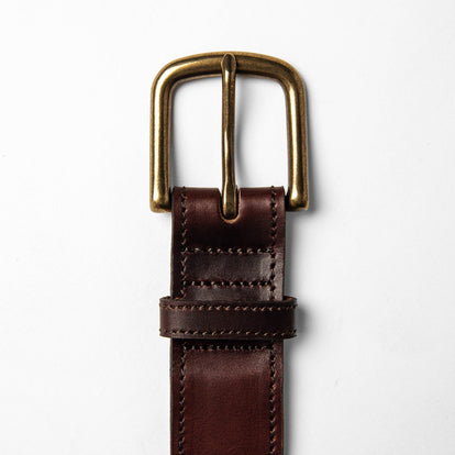 The Stitched Belt in Espresso: Alternate Image 2