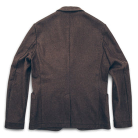 The Telegraph Jacket in Chocolate Wool: Alternate Image 2