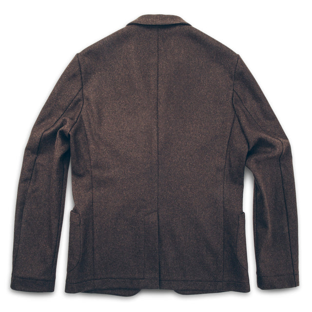 The Telegraph Jacket in Chocolate Wool
