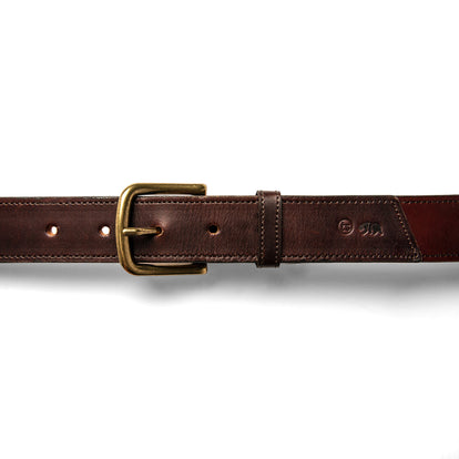 The Stitched Belt in Espresso: Alternate Image 4
