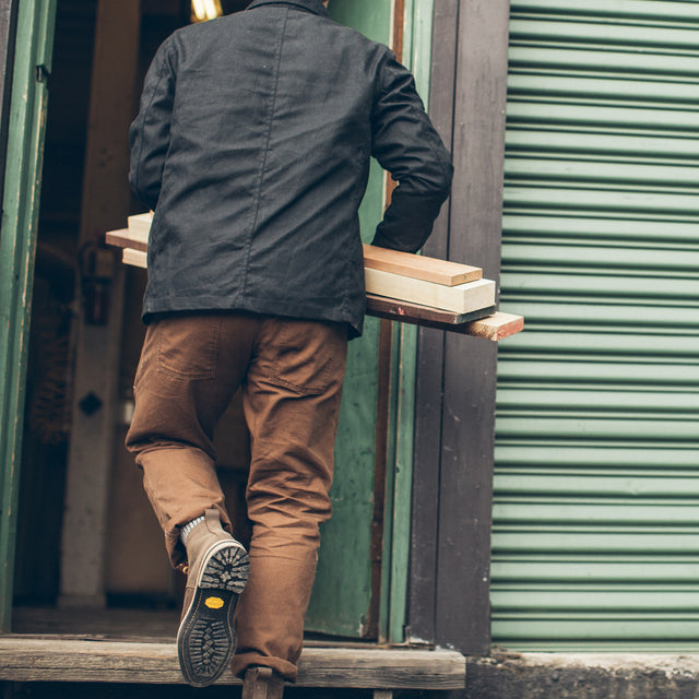The Chore Pant in Washed Timber