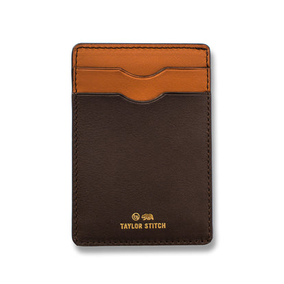 The Minimalist Wallet in Brown: Featured Image