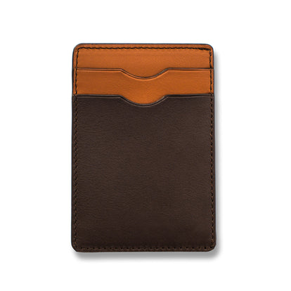 The Minimalist Wallet in Brown