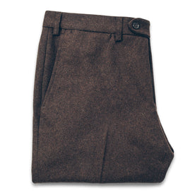 The Telegraph Trouser in Chocolate Wool: Featured Image