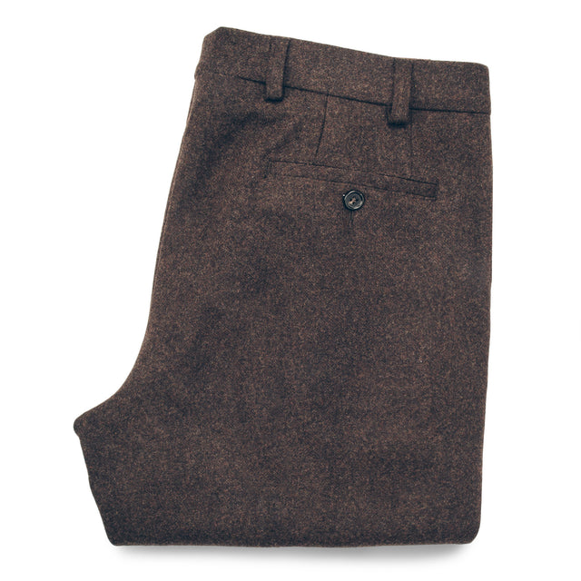 The Telegraph Trouser in Chocolate Wool
