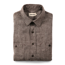 The California in Brown Hemp Chambray: Featured Image