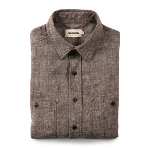 The California in Brown Hemp Chambray - featured image