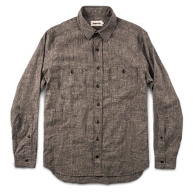 The California in Brown Hemp Chambray: Alternate Image 6