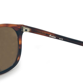 The Ace Sunglasses in Matte Blonde: Alternate Image 3