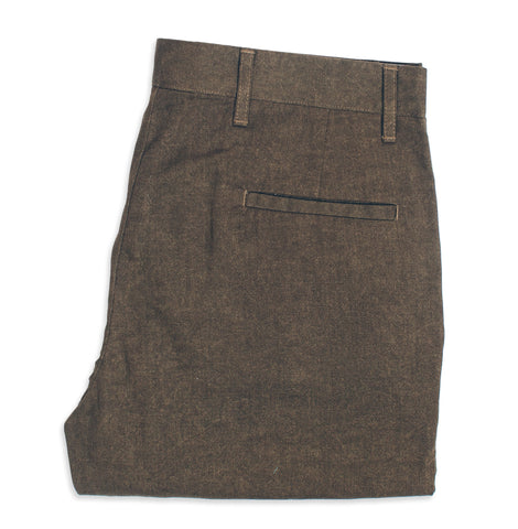 6 Point Pant in Olive Drab Oxford - featured image