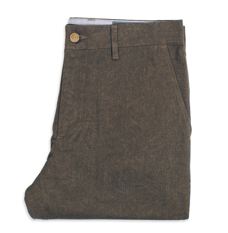 6 Point Pant in Olive Drab Oxford - alternate view