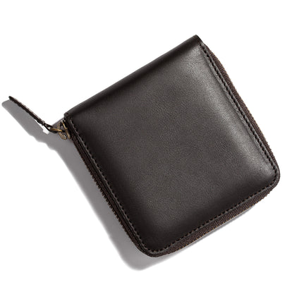 The Zip Wallet in Brown