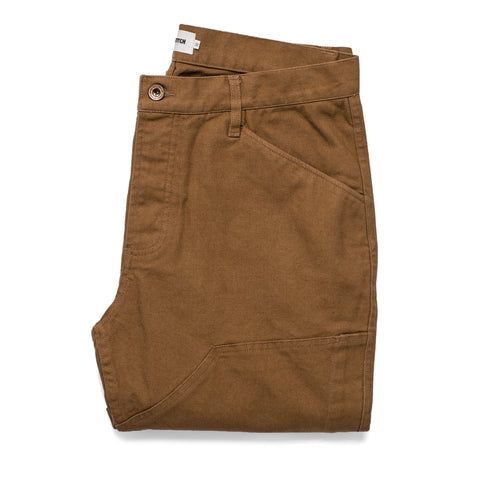 The Chore Pant in Washed Camel - featured image