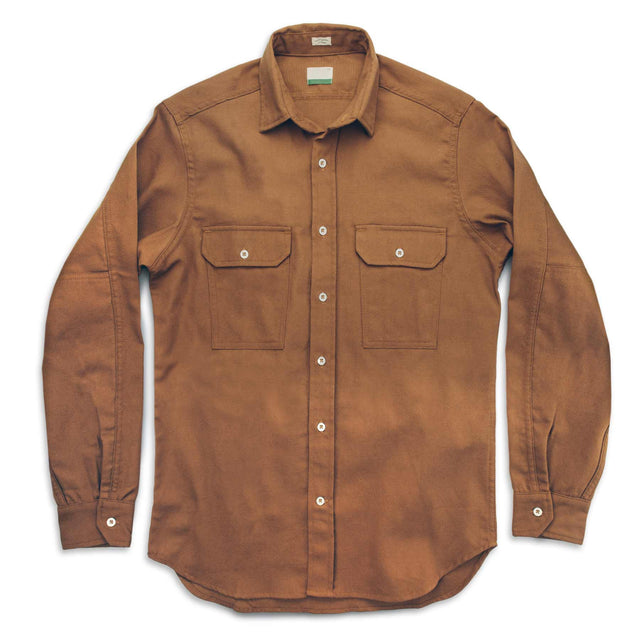 The Chore Shirt in Camel