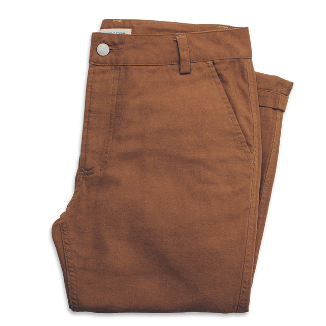 The Chore Pant in Camel