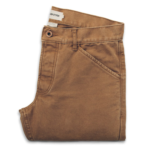 The Camp Pant in Washed Sawdust Canvas - featured image