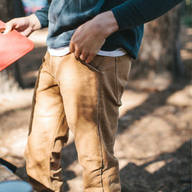 The Camp Pant in Washed Sawdust Canvas: Alternate Image 6