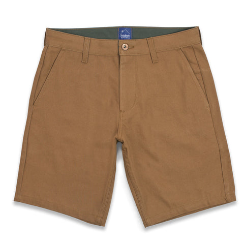 Camel Duck Canvas Camp Shorts - featured image