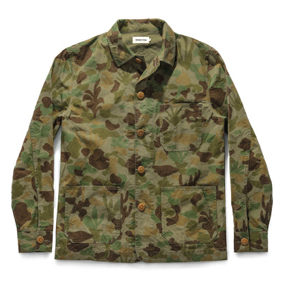The Ojai Jacket in Arid Camo Dry Wax