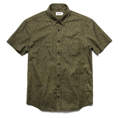 The Short Sleeve California in Rain Drop Camo: Featured Image