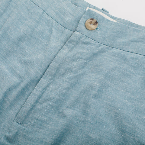 The Greenwich Pant in Washed Chambray - alternate view