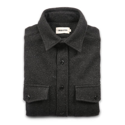 The Maritime Shirt Jacket in Charcoal