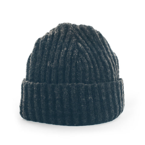 The Merino Wool Beanie in Charcoal - featured image