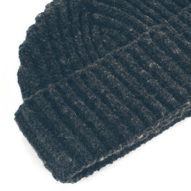 The Merino Wool Beanie in Charcoal: Alternate Image 1