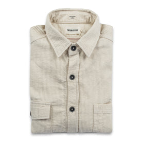 The Utility Shirt in Cone Mills Corded Natural: Featured Image