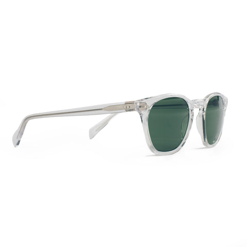 The Legend in Crystal with Bottle Green Lenses - featured image