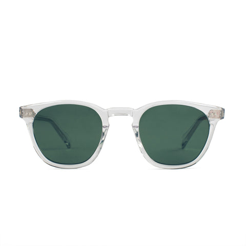 The Legend in Crystal with Bottle Green Lenses - alternate view