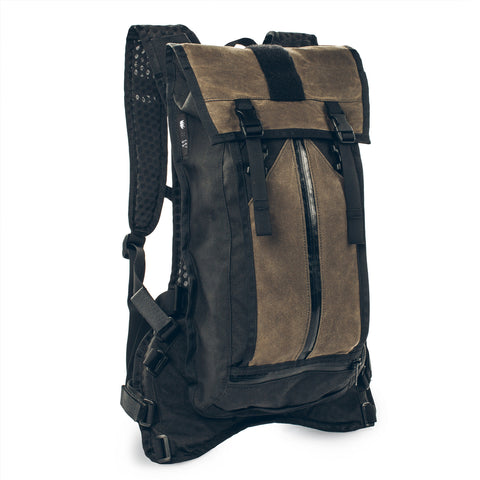 The Hydration Pack in Oak Waxed Canvas - featured image