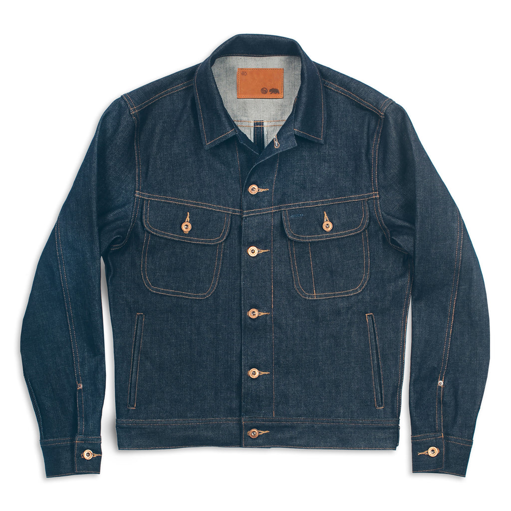 The Long Haul Jacket In Cone Mills 39 68 Selvage Men 39 S