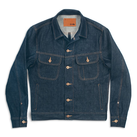 The Long Haul Jacket in Cone Mills '68 Selvage - featured image